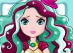 Ever After High Madeline Machucado no Pé