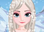 Frozen Penteado da Elsa