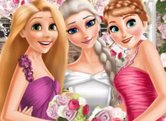 Elsa e as Princesas no Casamento