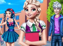 Frozen Colegial – Click Jogos