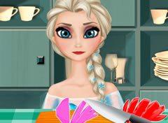 Frozen Elsa Cozinheira