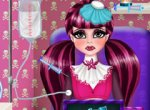 Monster High Draculaura Grávida na Ambulância