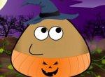 Pou no Halloween